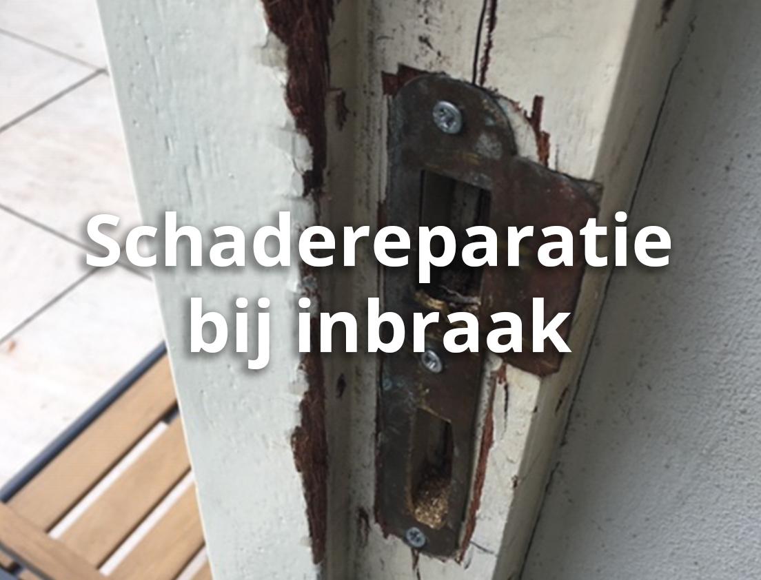 Schade-reparatie-inbraak